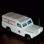 EFSI Holland 1:63 Land Rover series 3 ambulance HET NEDERLANDSE RODE KRUIS @SOLD@